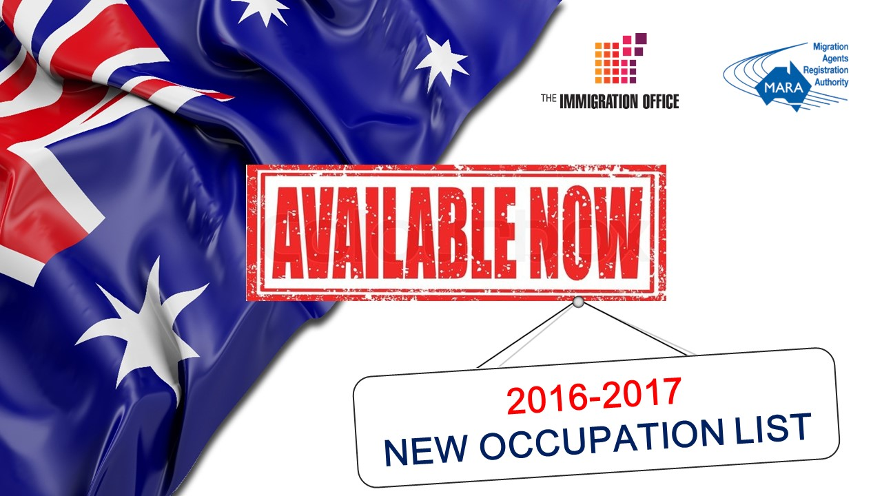 occupations list Australia
